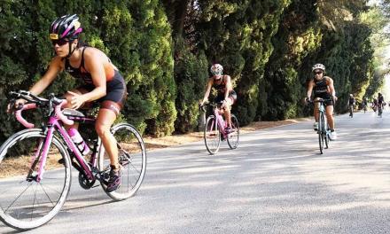 Exitosa jornada triatleta en Navajas