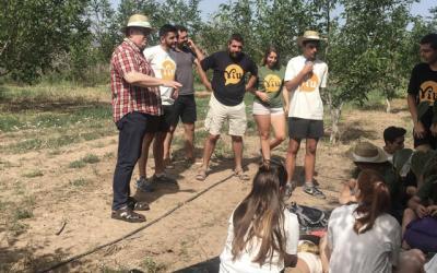21 jóvenes realizan excavaciones arqueológicas en Viver