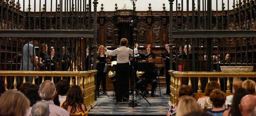 El coro de JJMM de Segorbe clausura el Festival Coral