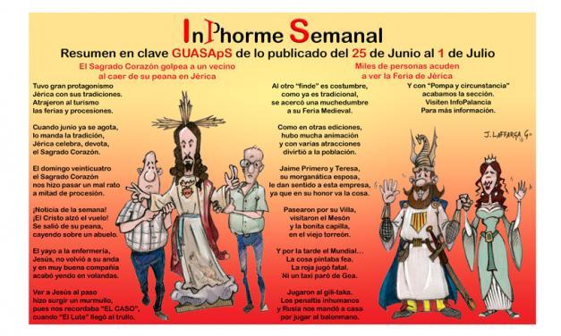 InPhorme Semanal del 25 de junio al 1 de julio