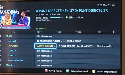 El PP busca soluciones a los problemas de recepción de TV