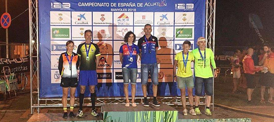 Inma Sánchez proclamada Campeona Nacional de Triatlón