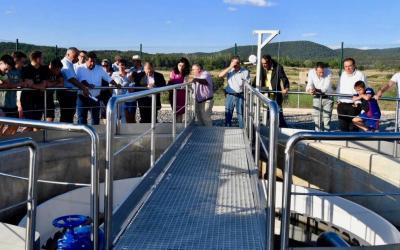 Barracas estrena depuradora de aguas residuales