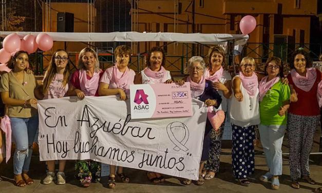 Azúebar celebró anoche una cena solidaria en favor de ASAC