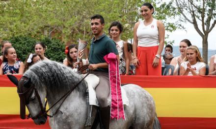 Patxi Guerrero gana la Carrera de Cintas a Caballo de Segorbe