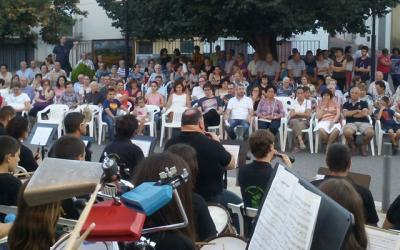 La Colla de Dolçainers i Tabaleters de Castelló actua en Chóvar