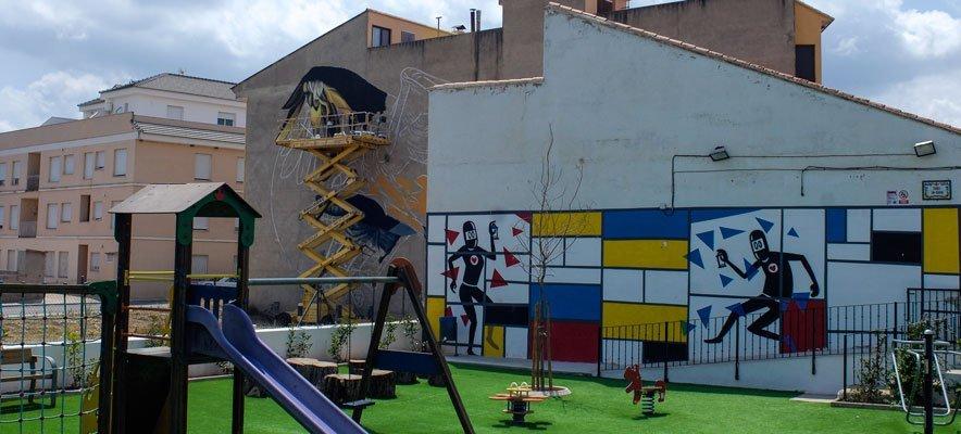 Grafiteros del mundo se dan cita en Geldo