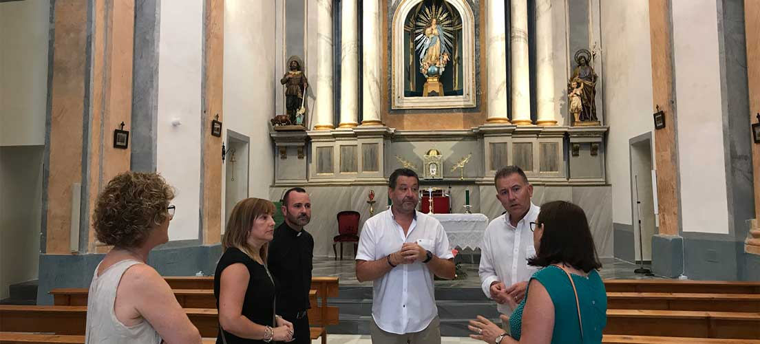 Diputación redobla su apuesta por el patrimonio de Vall de Almonacid