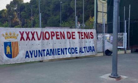 Altura inicia hoy el XXXVII Open de tenis