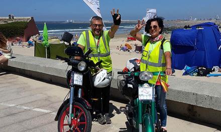 Cuarta etapa Los Cuatro Mares León-Oporto 297 km