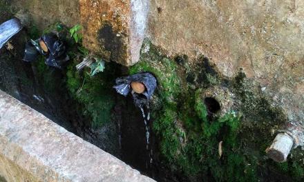 Los 50 Caños perdieron el agua el fin de semana
