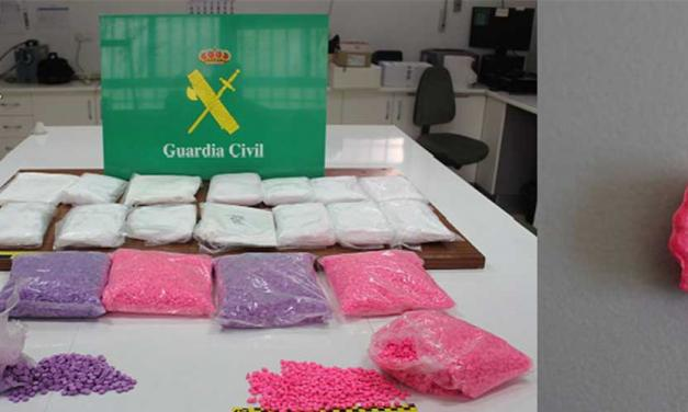 La G.C detiene a dos personas por tráfico de drogas