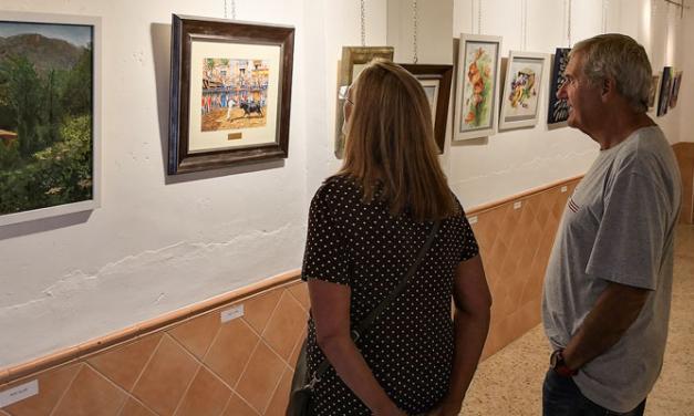 El Teleclub de Navajas una exposición colectiva de artistas