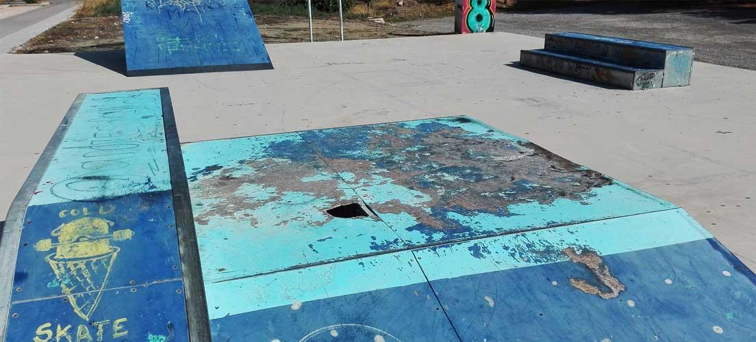 Segorbe organiza un concurso de Skateboard en una pista impracticable