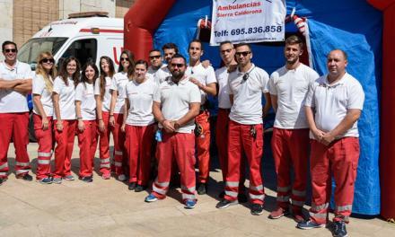 Ambulancias Sierra Calderona vela por la salud de las fiestas