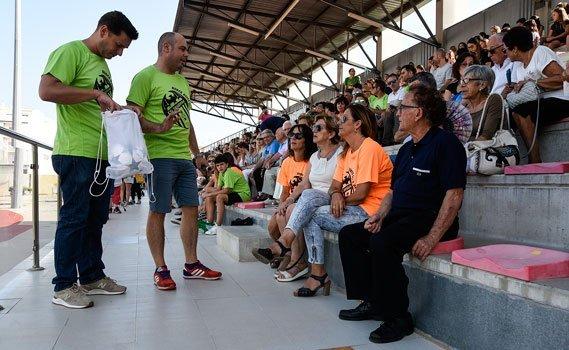 Cesar Plasencia da nombre al campo de Fútbol de la Ciudad Deportiva