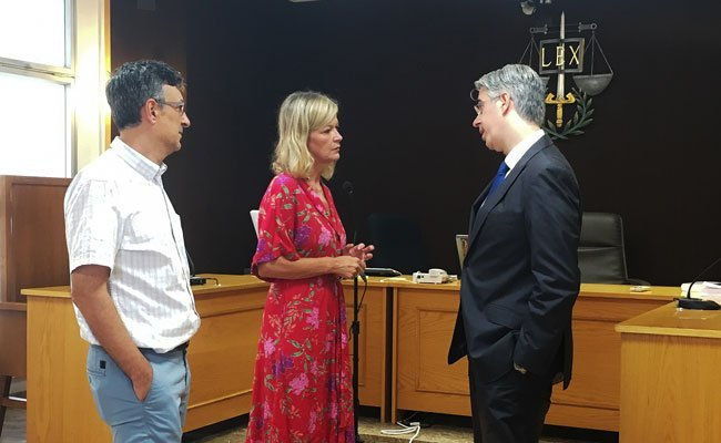 Gabriela Bravo pedirá al Ministerio más personal para el Juzgado