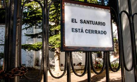 El Santuario de la Cueva Santa cerrará mañana
