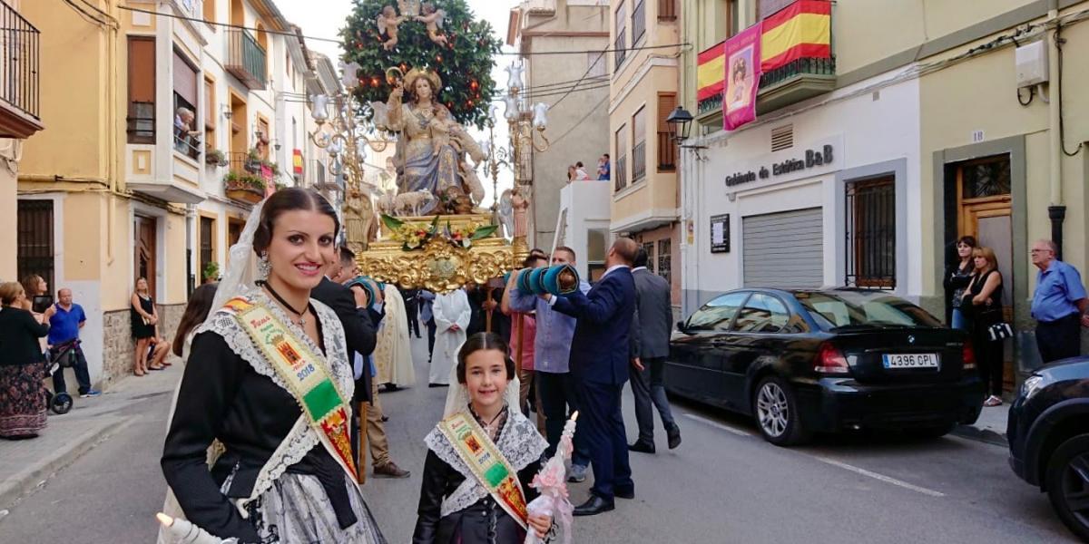 Jérica celebra la festividad de la Divina Pastora