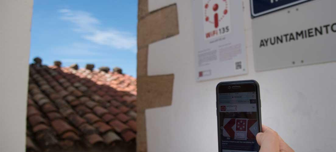 El Plan Wifi-135 se extiende por la comarca