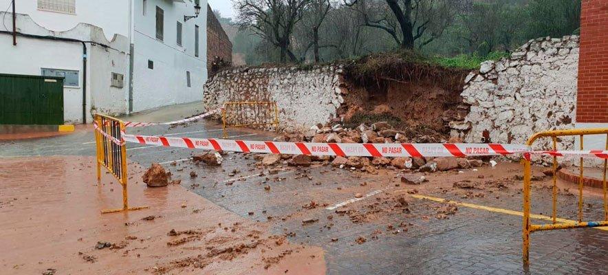 Diputación concederá ayudas para reparar los daños del temporal