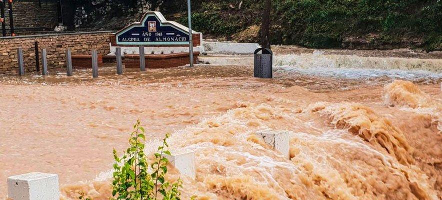 El temporal deja sin agua potable a 200 casas en Viver