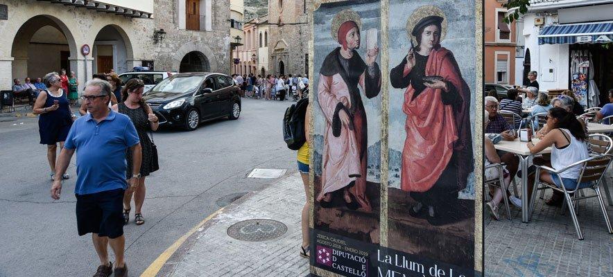 14.000 visitas pasan por la exposición en Jérica y Caudiel