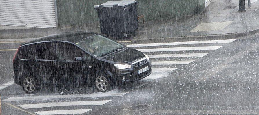 10  pueblos de la comarca cierran los colegios y polideportivos por la lluvia