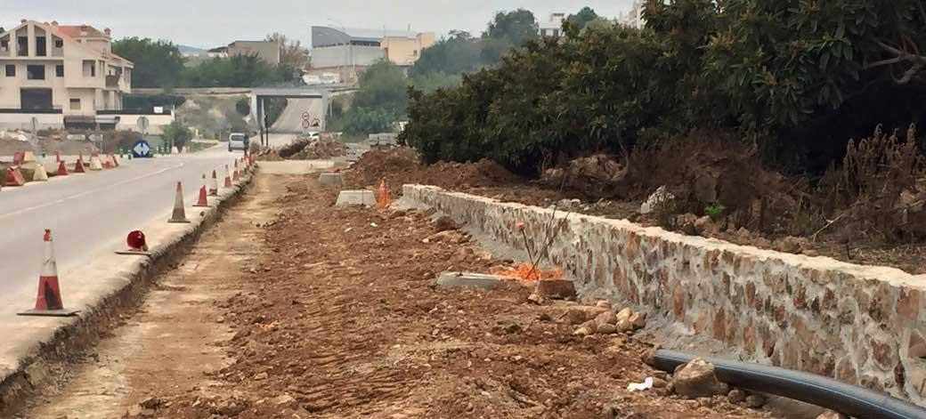 Diputación invierte 450.000 € en la carretera Castellnovo-Almedíjar