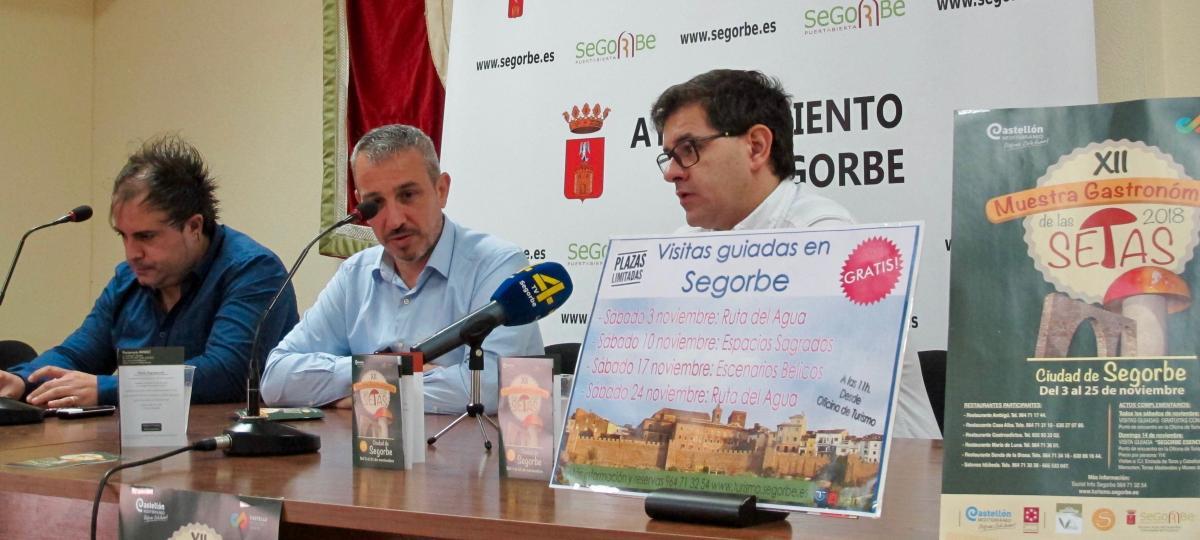 Segorbe celebra en noviembre las XII Jornadas de las Setas