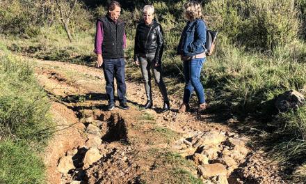 Caudiel solicita ayuda a Diputación para reparar los daños de la lluvia