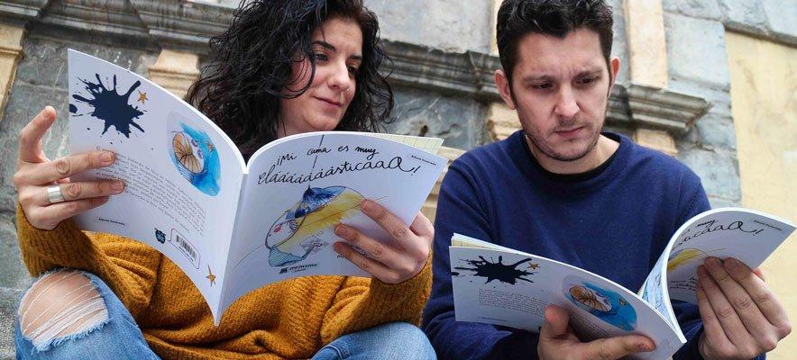 Meluca y Alayrach ilustran y escriben un cuento infantil