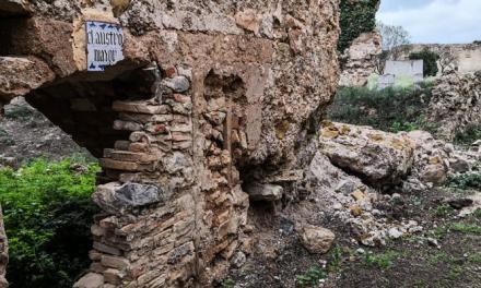 Cultura dedica 23.700 € para consolidar muros en la Cartuja de Altura