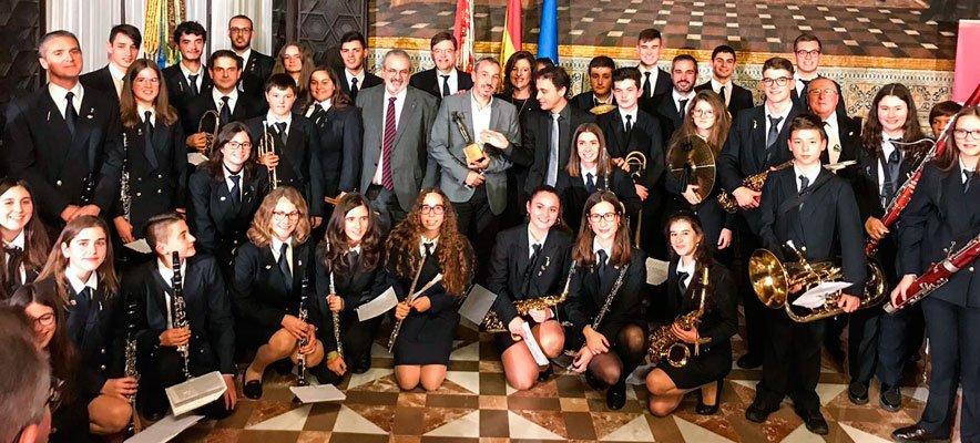 La Sociedad Musical de Segorbe recoge el Premio Euterpe