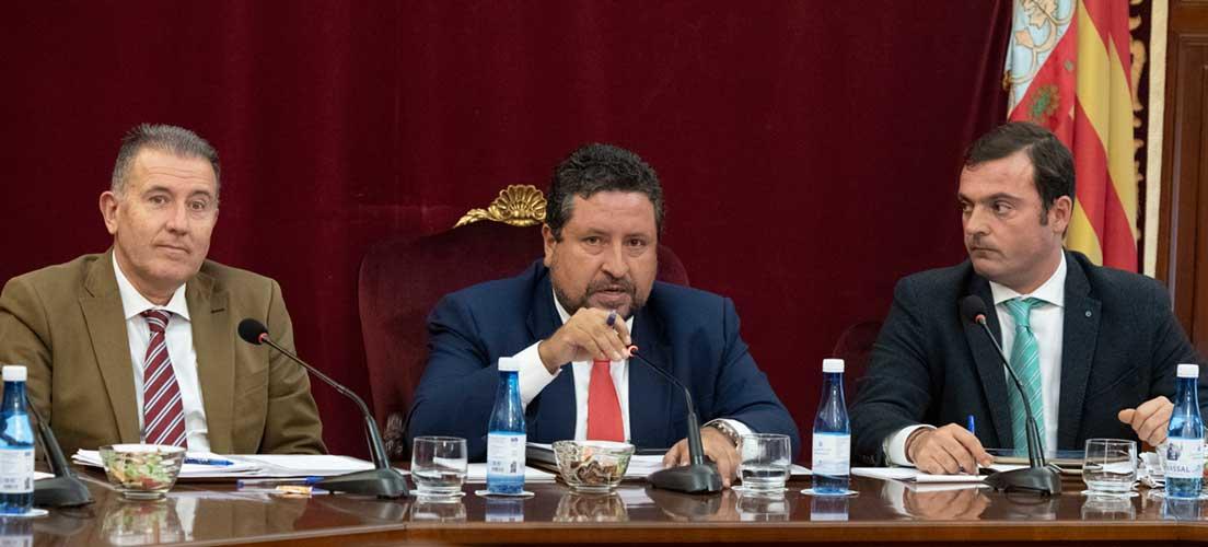 Diputación aprueba un presupuesto con 55 m de € de inversión