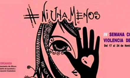 Altura celebra la IV Semana contra la Violencia de Género