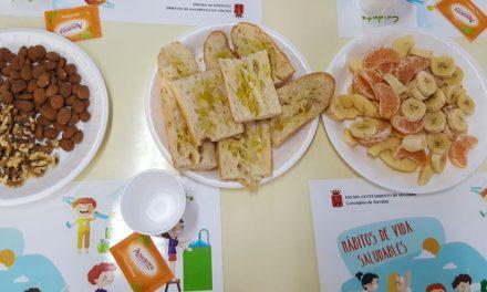 """La campaña """"Desayunos Saludables"""" regresa a los coles de Segorbe"""