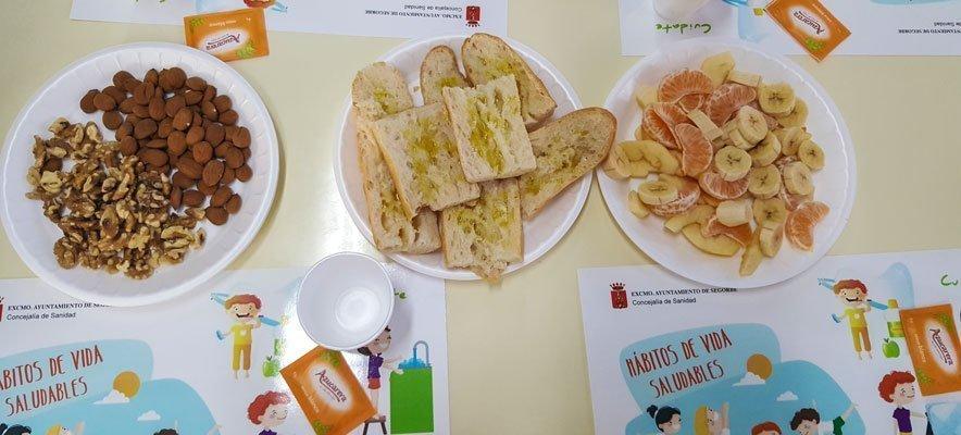 La campaña «Desayunos Saludables» regresa a los coles de Segorbe