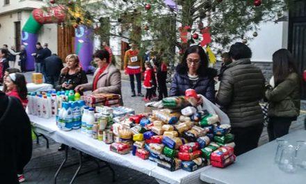 Alegría y solidaridad en la San Silvestre de Altura