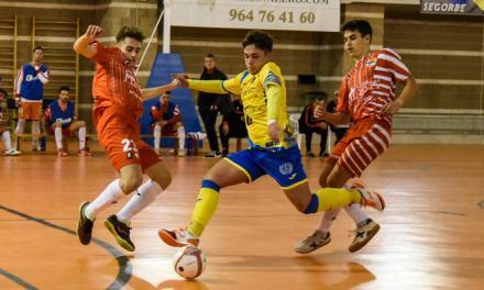 El fútbol sala de Segorbe derrotado en casa por el líder