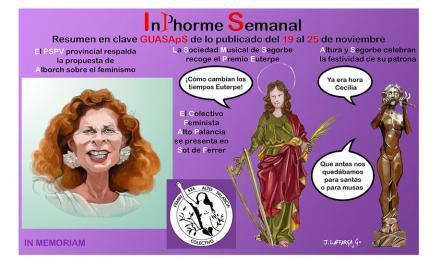 InPhorme Semanal del 19 al 25 de noviembre