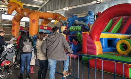 Inaugurado el Parque Infantil de Navidad de Segorbe