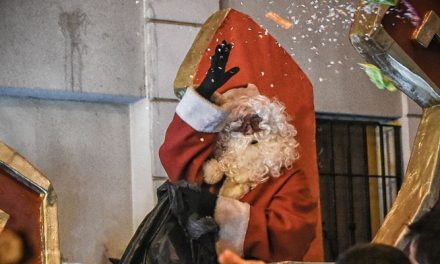 Recorrido de la Cabalgata de Papá Noel en Segorbe