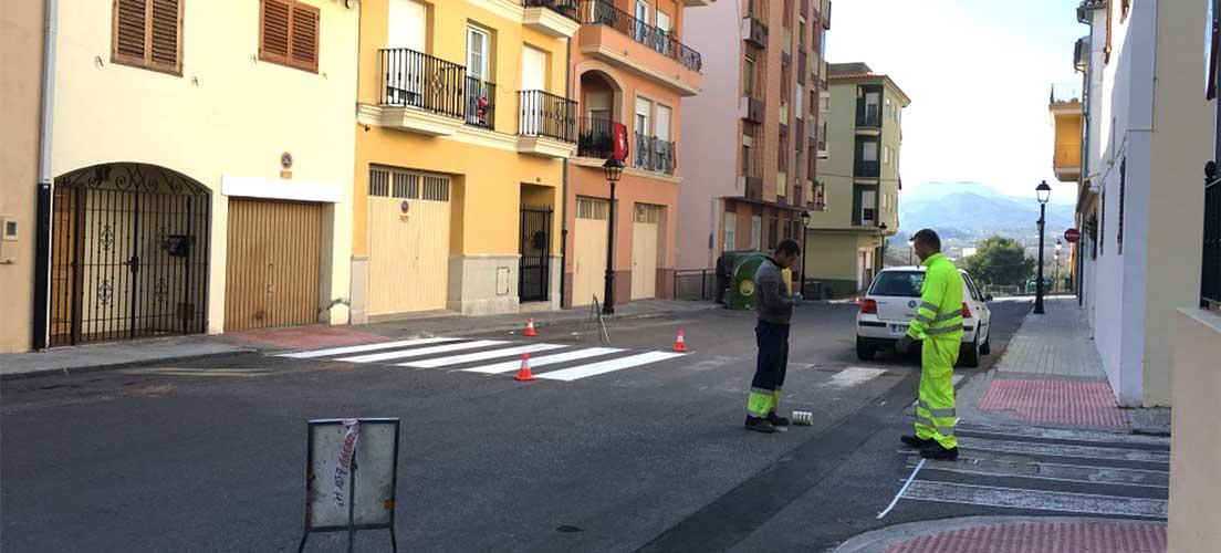 Segorbe repinta las calles que asfaltará el próximo año