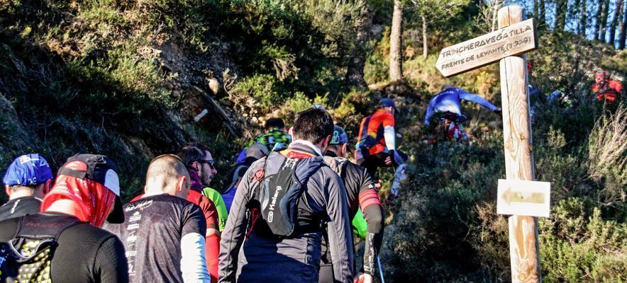 El Trail Trincheras de Jérica reúne a más de 500 corredores