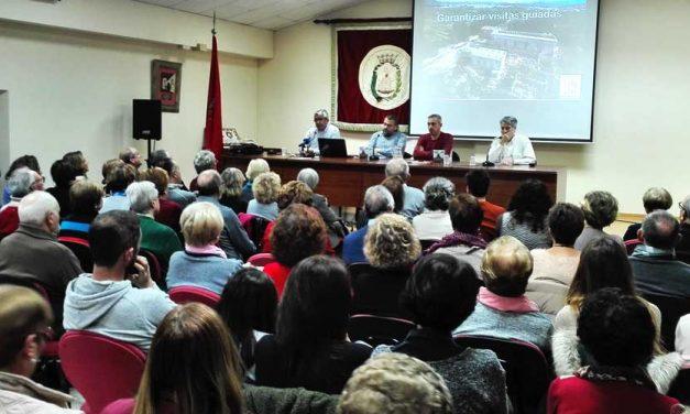 Exitosa presentación en Segorbe de la guía y paseo virtual por la Cartuja