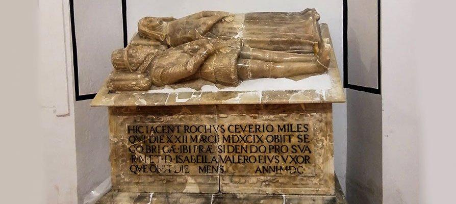 El sarcófago de Jérica es restaurado y colocado en la Iglesia del Socós