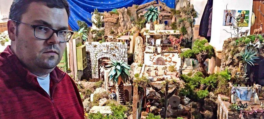 El Belén de la Iglesia de Viver recrea el Santuario de la Cueva Santa