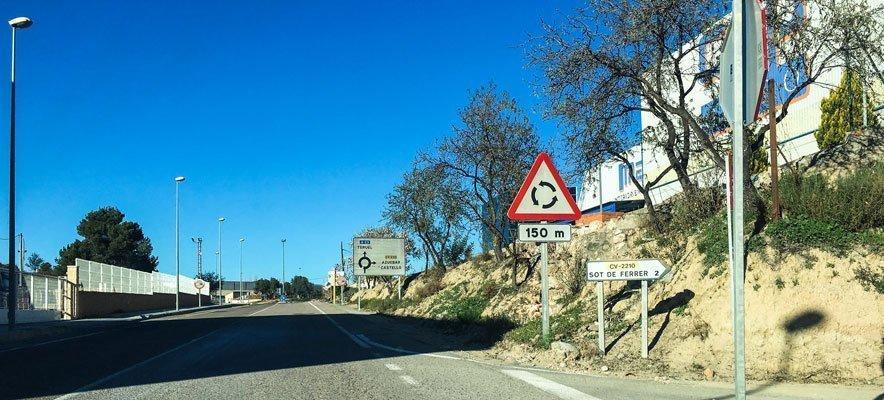 Comienzan las obras de un carril ciclopeatonal entre Soneja y Sot