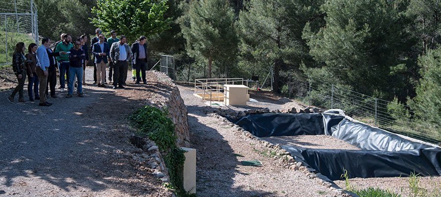 Diputación construirá este año dos depuradoras en Pavías y Matet
